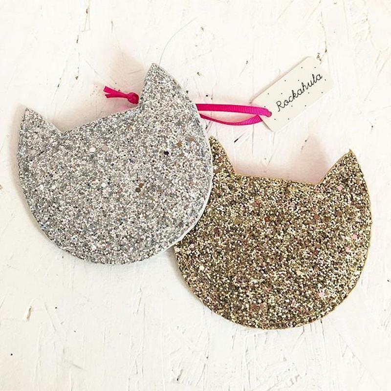 Sparkly Cat Purse  / Rockahula