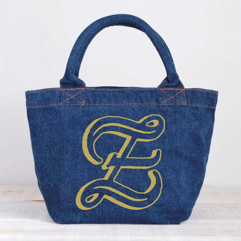Organic Denim Tote Z / Ginger Beach Inn Original