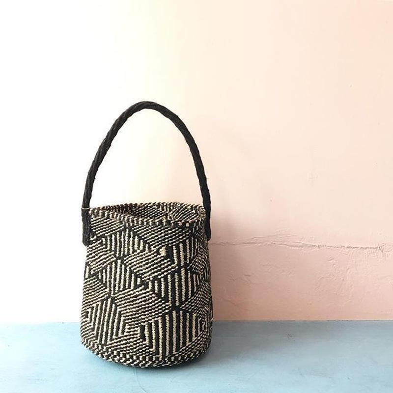 One Handle Sisal Basket