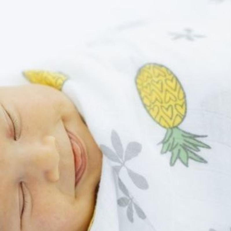 "Bamboo Swaddle ""Pineapple Of My Eye ""Coco Moon"