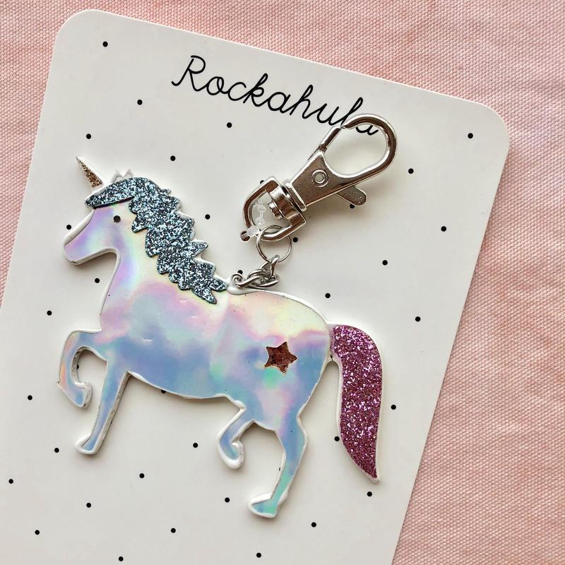 Rockahula unicorn charm