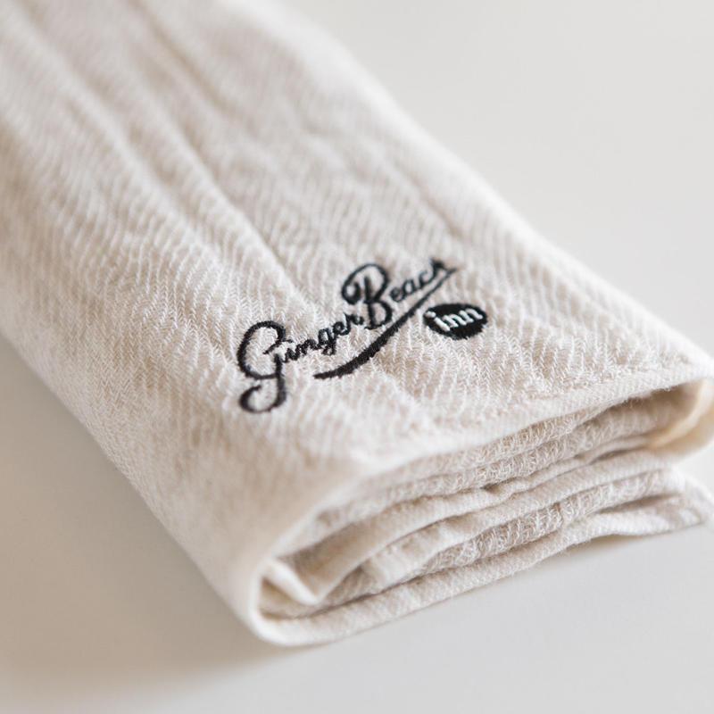 Face Towel in Linen & Organic Cotton