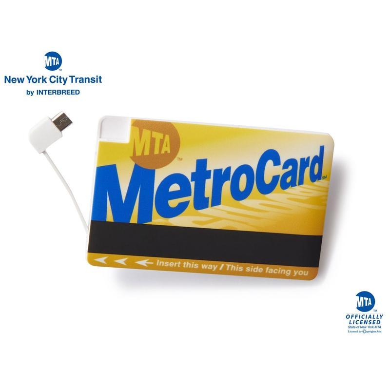 MTA X INTERBREED METRO CARD MOBILE BATTERY