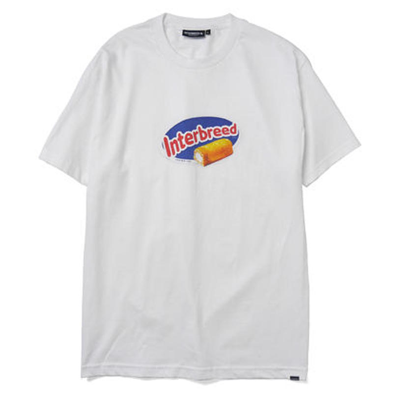 INTERBREED GOLDEN SNACK SS TEE WHITE