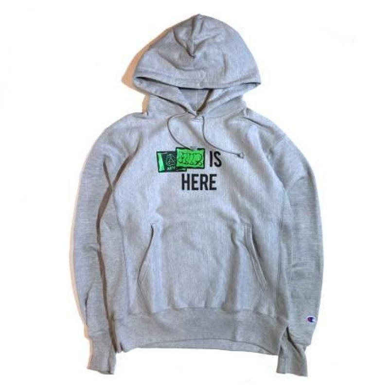 M.V.P.  x AEVIL LABELS IS HERE P/O HOODIE GREY