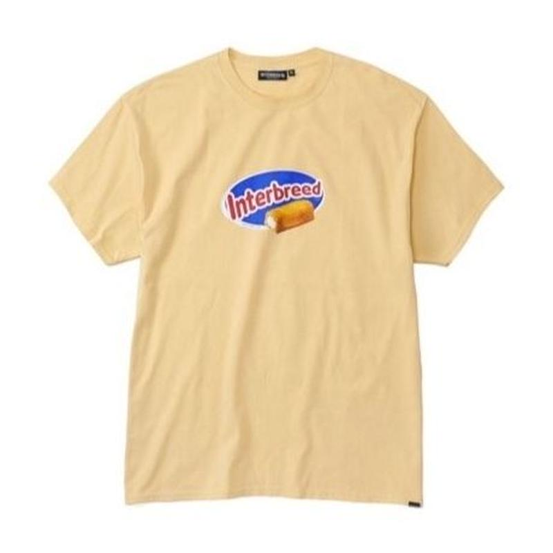 INTERBREED GOLDEN SNACK SS TEE LIGHT YELLOW