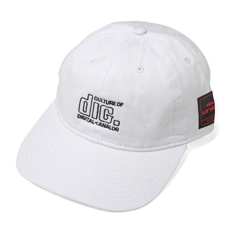 disk union × INTERBREED ''COLUTURE LOVERS CAP''  WHITE