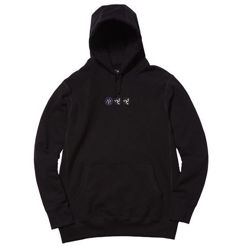 WHIMSY POZESSION HOODIE BLACK