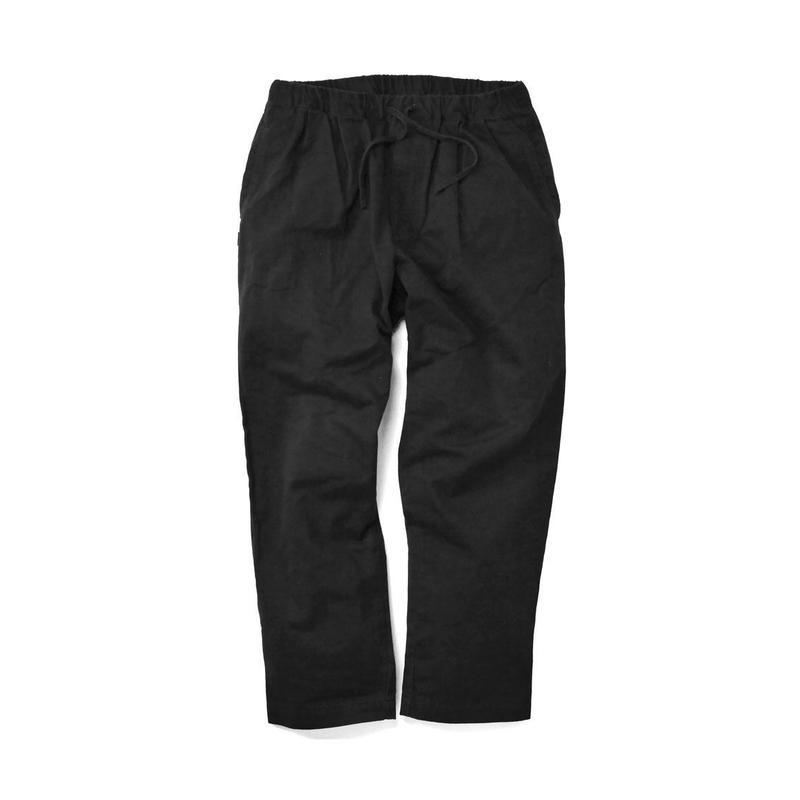 INTERBREED CHINO RELAX TROUSER BLACK