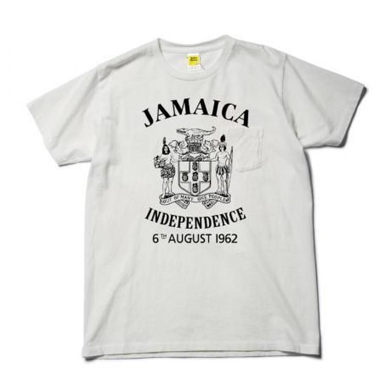 M.V.P.  JAMAICA TEE OD  WHITE