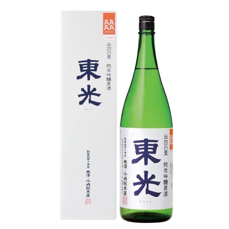 東光 純米吟醸原酒 出羽の里 1800ml