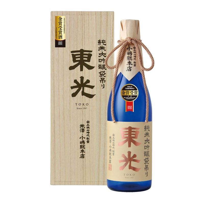 東光 純米大吟醸 金賞受賞酒 1800ml(桐箱入)
