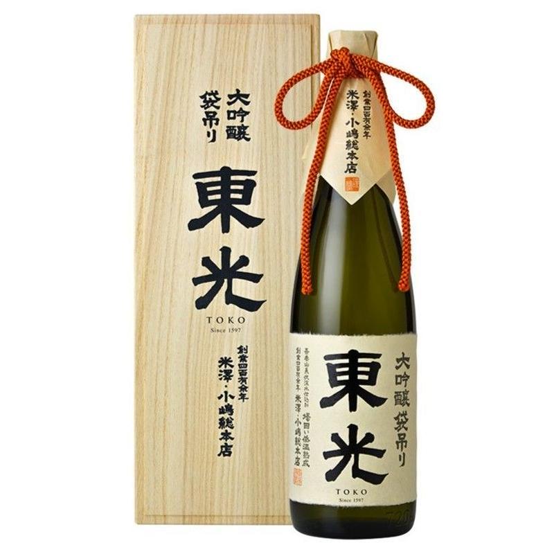 東光 大吟醸袋吊り 1800ml(桐箱入)