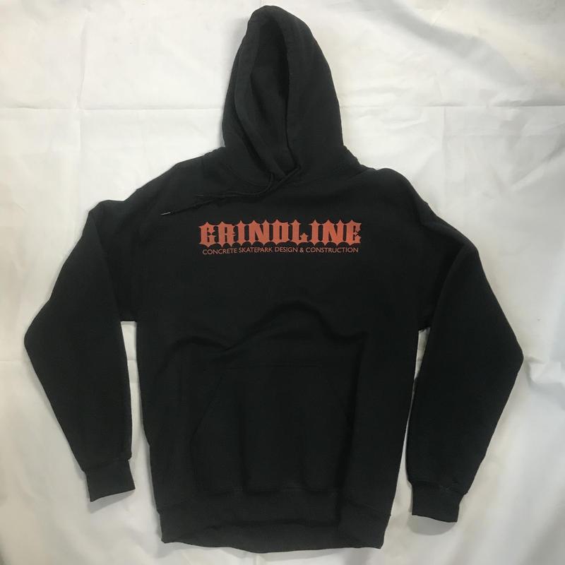 """Grindline Skateparks """"Iron Wood"""" Hoodie (Black)"""