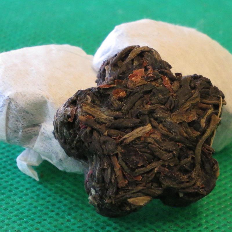 薔薇香小沱茶