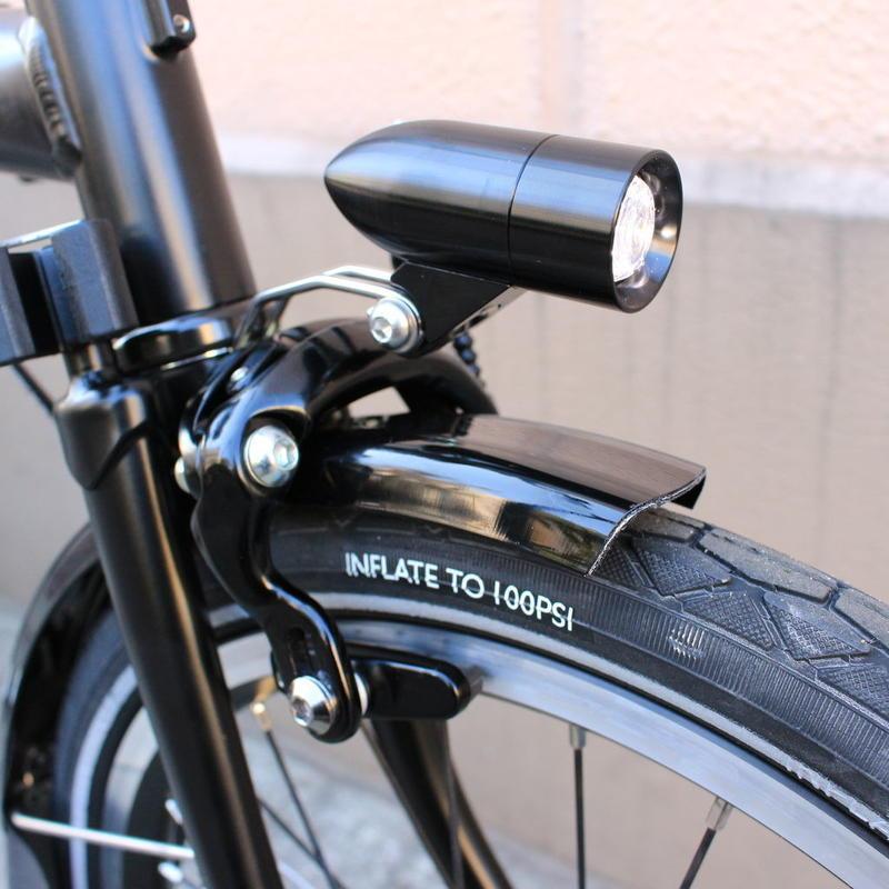 Bullet Lighting ブラック  for BROMPTON