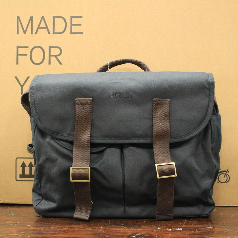Barbour x Brompton Tarras Bag [ネイビー]