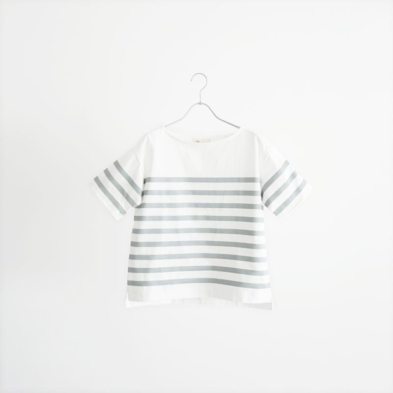 189338 シルバーボーダーTシャツ
