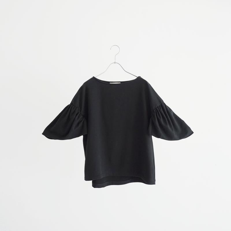 189350 ギャザースリーブTシャツ