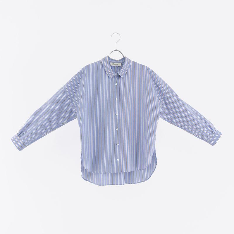 194535 ブルーストライプシャツ