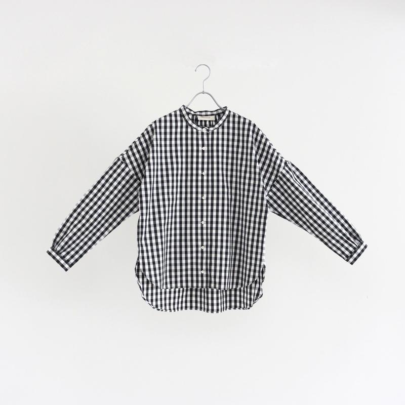 194511 ピンオックススタンドカラーシャツ