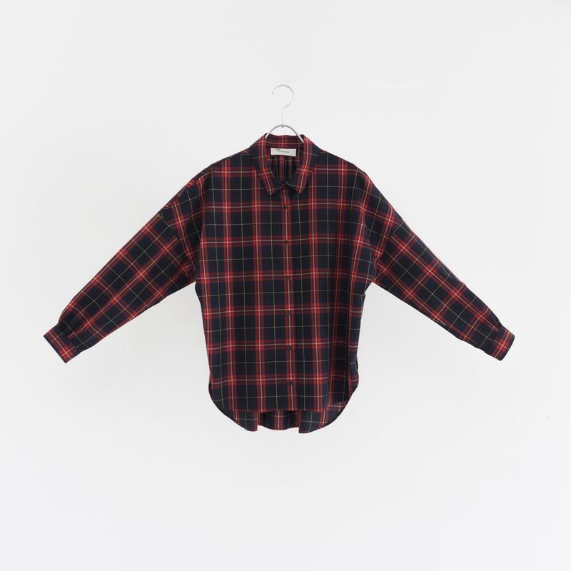 194512 タータンチェックシャツ