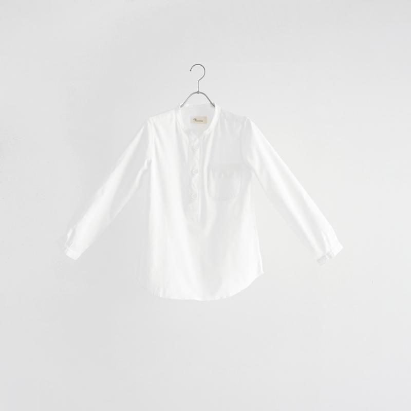184556 パラシュート釦ヘンリーネックシャツ