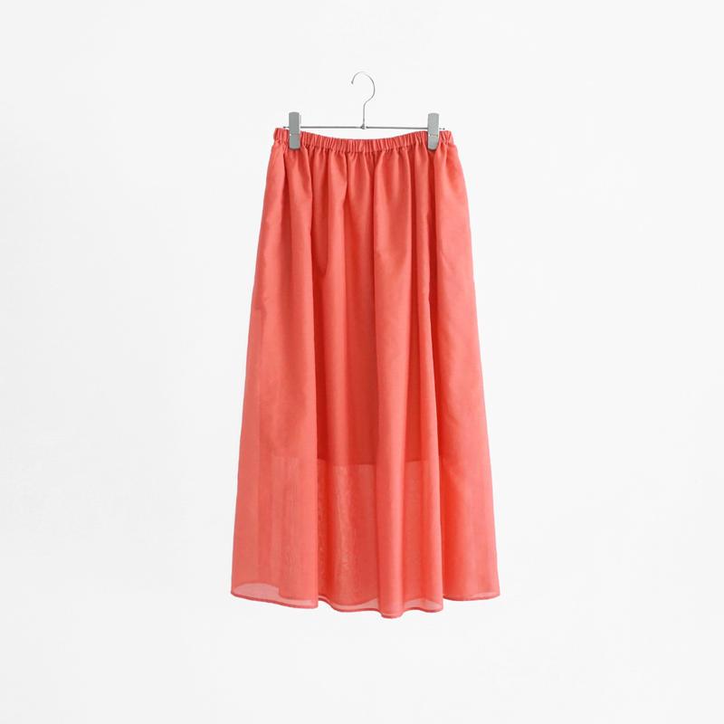 197315 ボイルギャザースカート