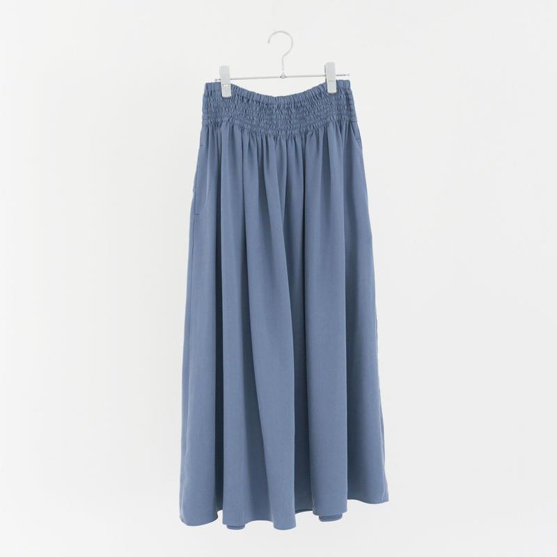 197537 リヨセルギャザースカート