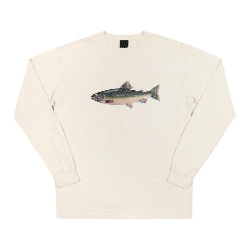 Only NY /Brook Trout L/S T-Shirt (Natural)