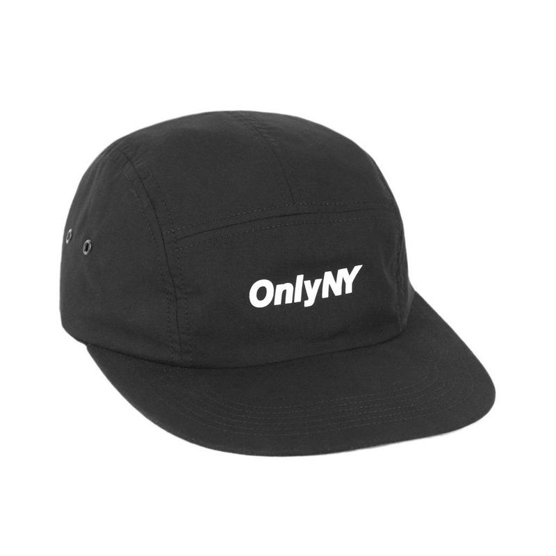 Only NY / Logo 5-Panel (Black)