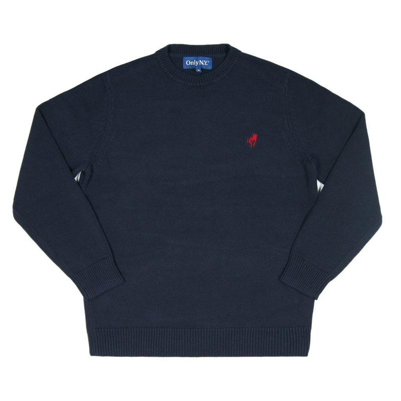 Only NY / Knit OK Sweater (Navy)