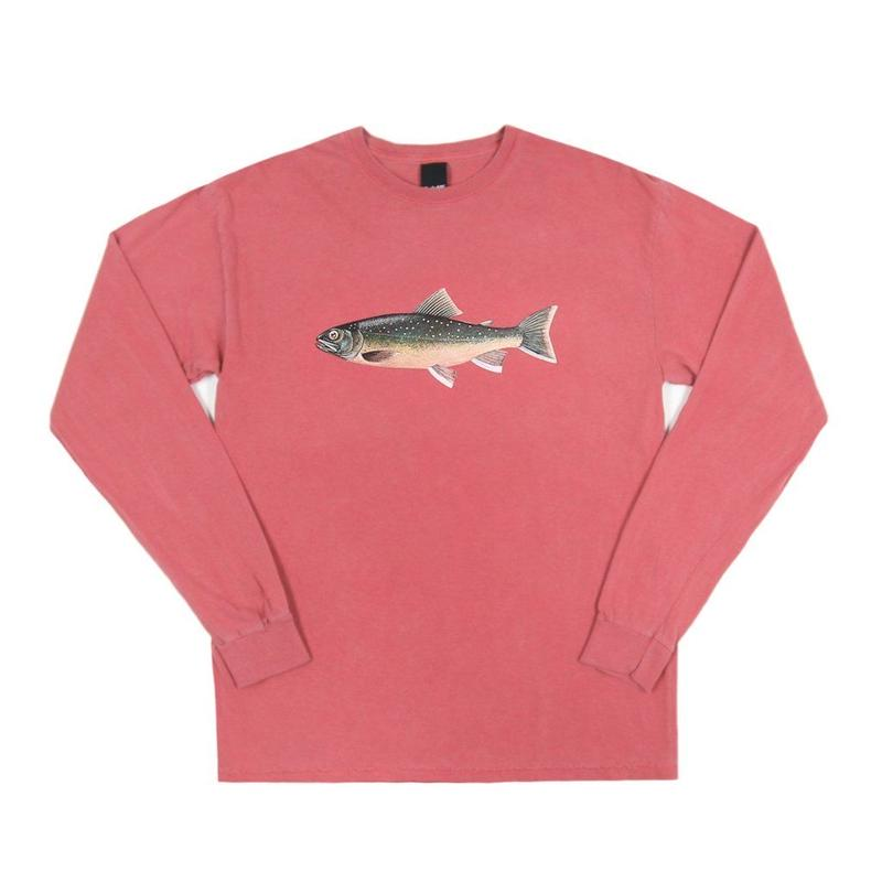 Only NY /Brook Trout L/S T-Shirt (Clay)