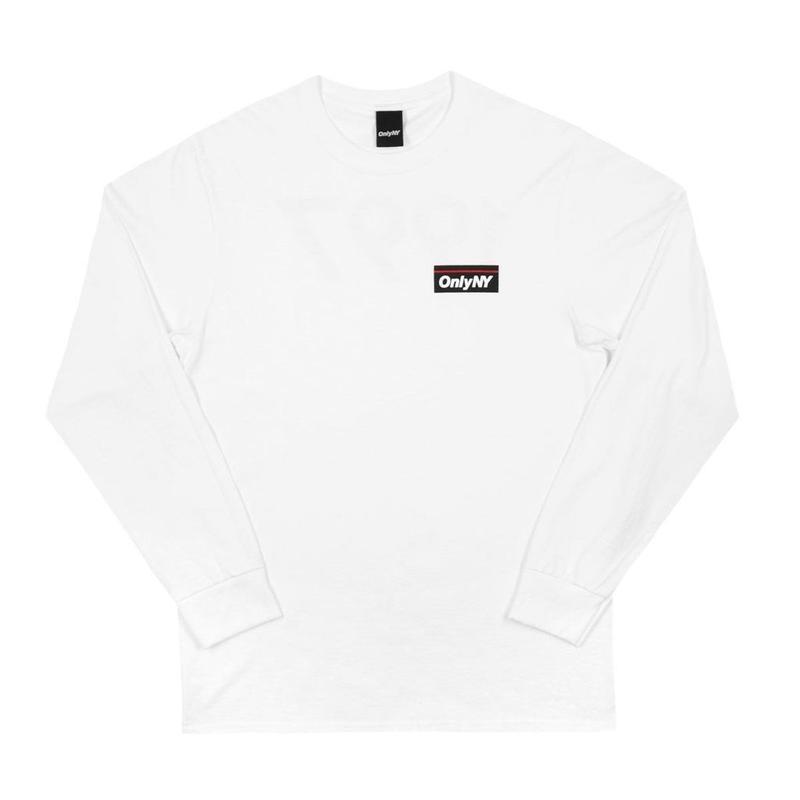 Only NY / Subway L/S T-Shirt (White)