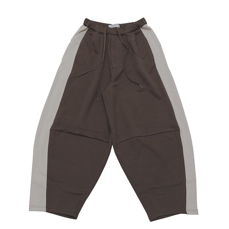 DONTSUKI / SIDE LINE WIDE PANTS (OLIVE)