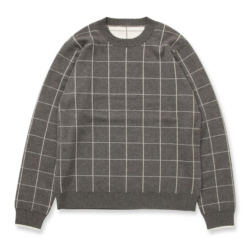 SON OF THE CHEESE / GAGE sweater (GRAY)