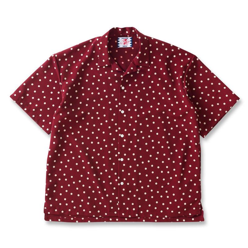 SON OF THE CHEESE / rain dot shirts  (WINE)
