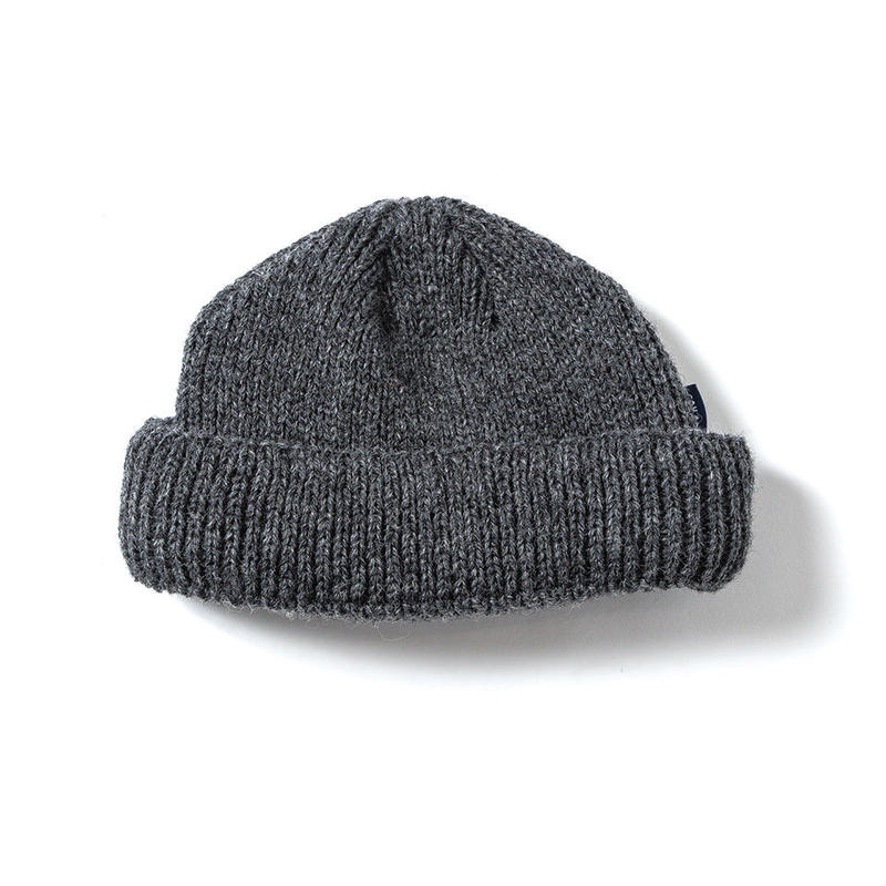 SON OF THE CHEESE / WOOL BEANIE short (GRAY)