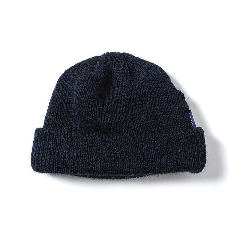 SON OF THE CHEESE / WOOL BEANIE (NAVY)