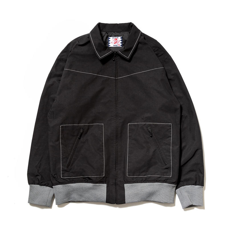 SON OF THE CHEESE / Drizzler JKT(BLACK)