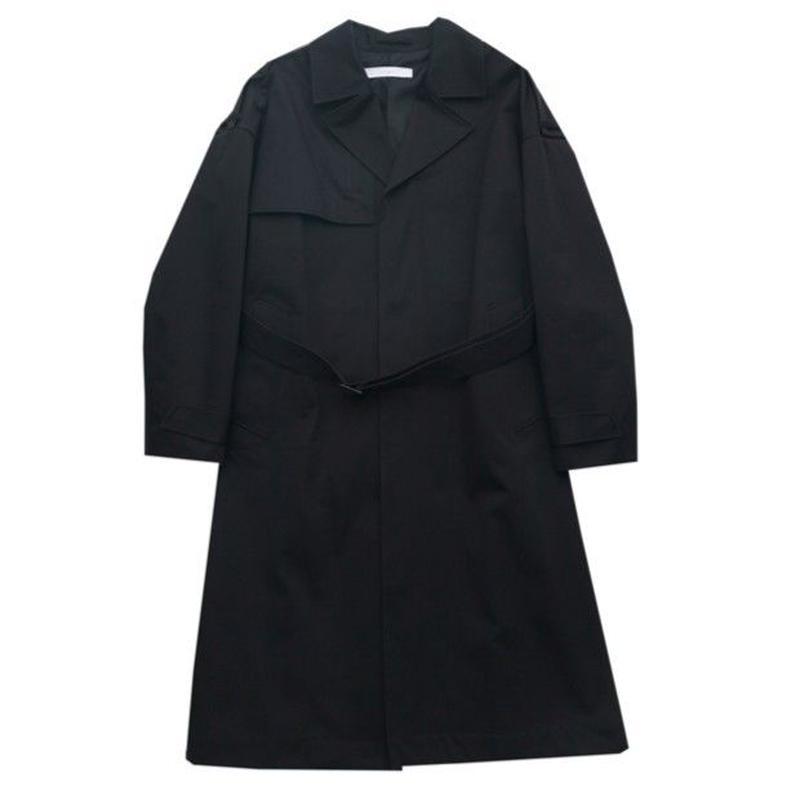 DONTSUKI / SIDE SLIT LONGCOAT (BLACK)