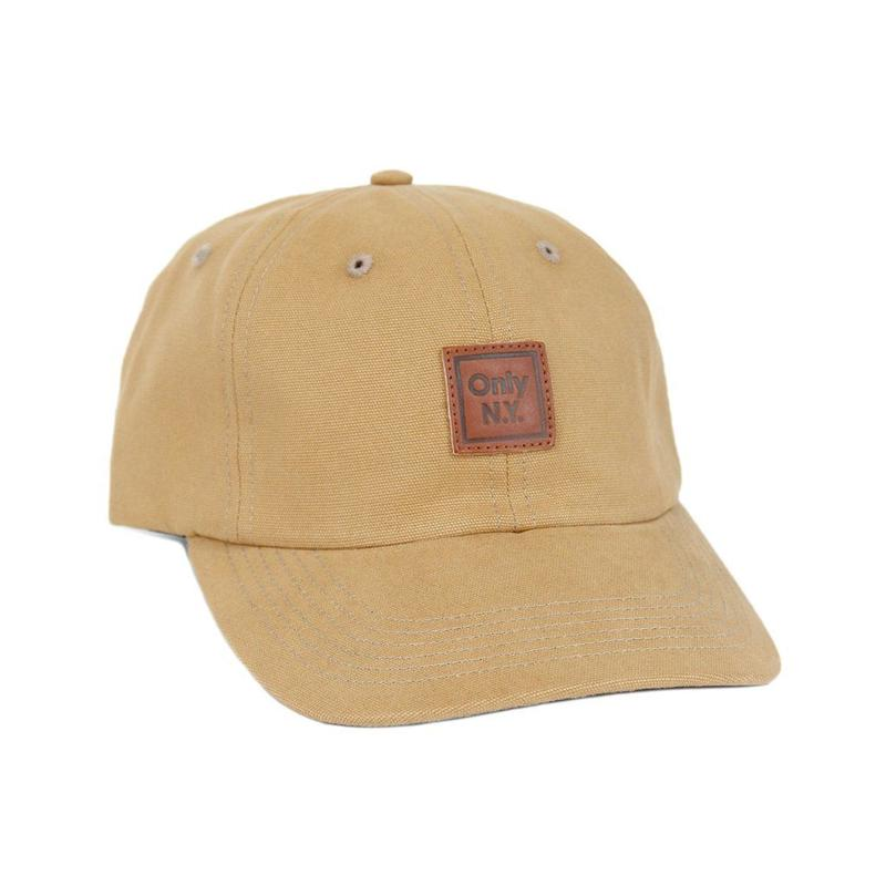 Only NY / Cube Polo Hat (Wheat)