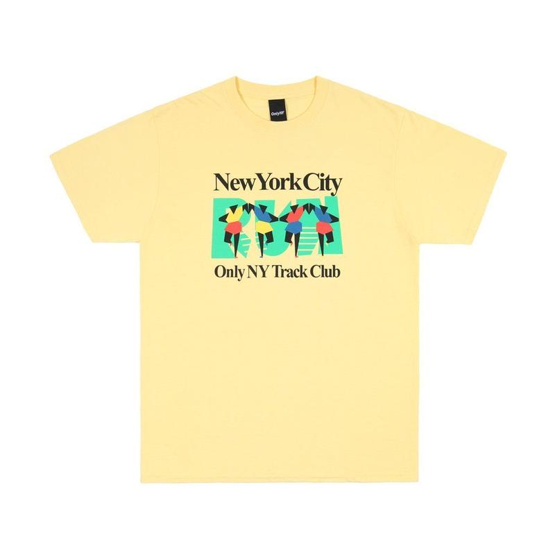 Only NY / TRACK CLUB T-SHIRT(Squash)