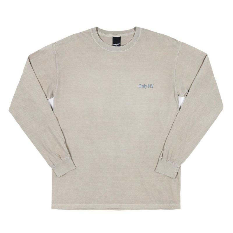 Only NY / Guideline L/S T-Shirt (Sand)