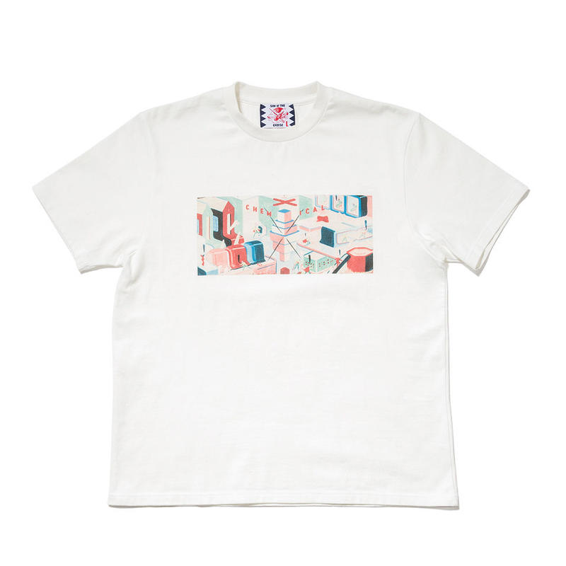 SON OF THE CHEESE / Chem factory TEE(WHITE)