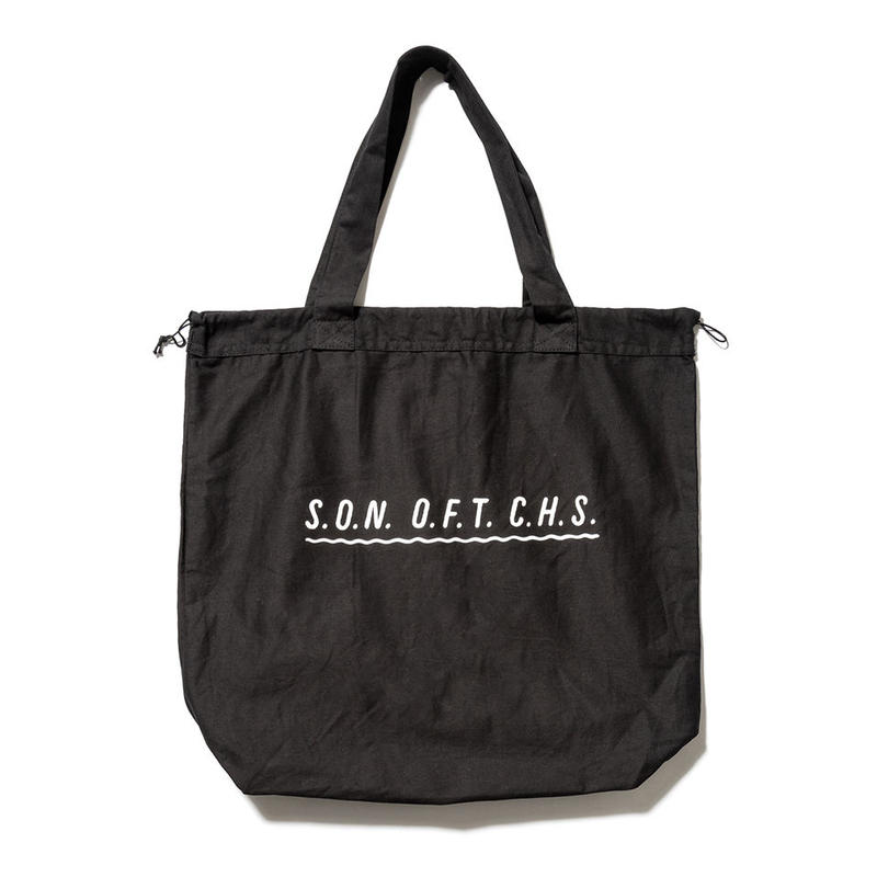 SON OF THE CHEESE / wavy SOTC BAG(BLACK)