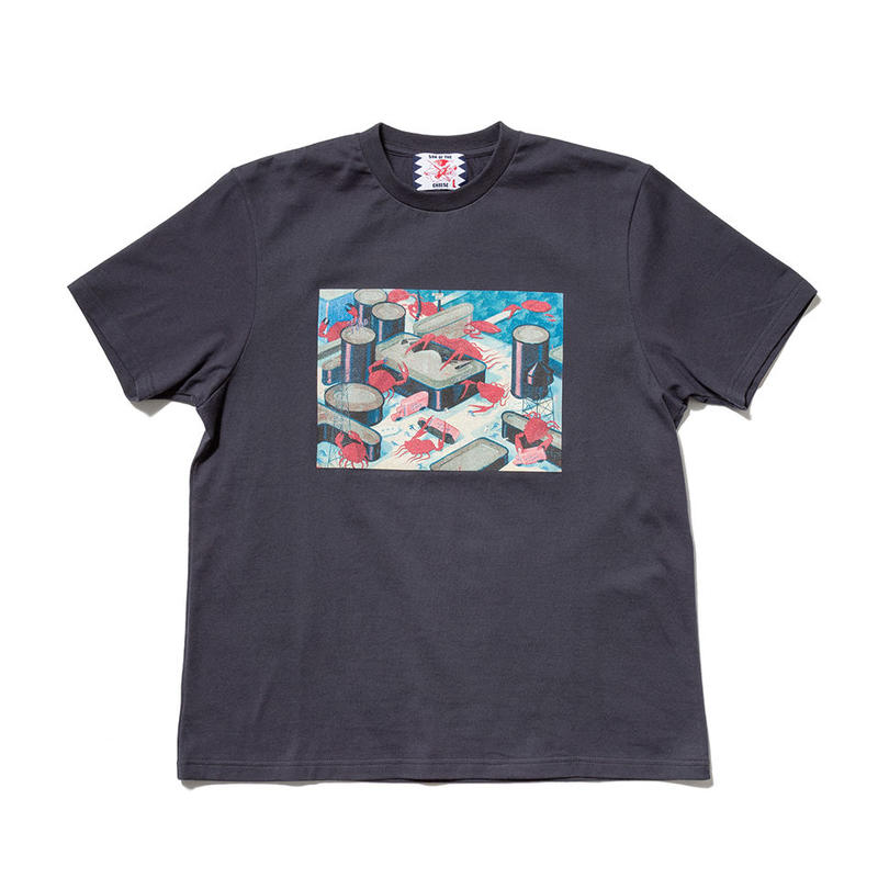 SON OF THE CHEESE / Seafood Revolt TEE(GRAY)