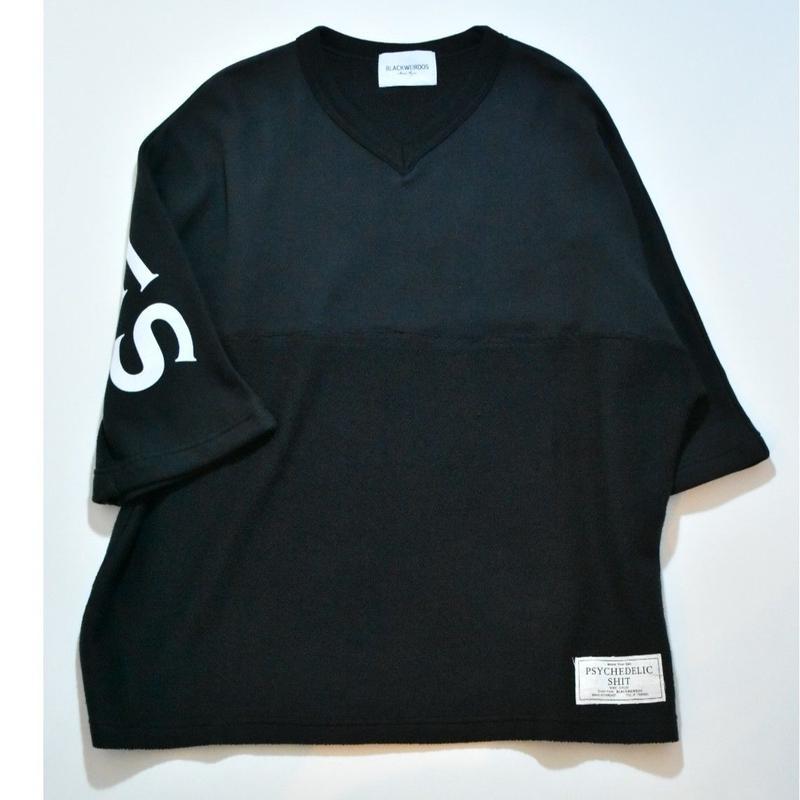 Black Weirdos / Football Sweat Shirt (BLACK)