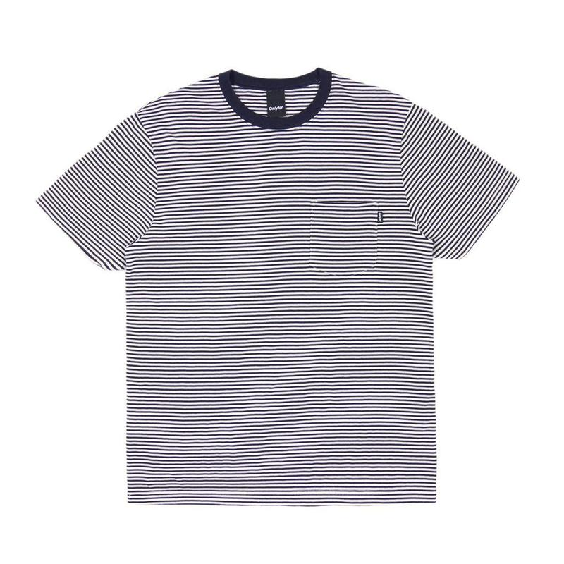 Only NY / Mercer Stripe Pocket T-Shirt (Navy)