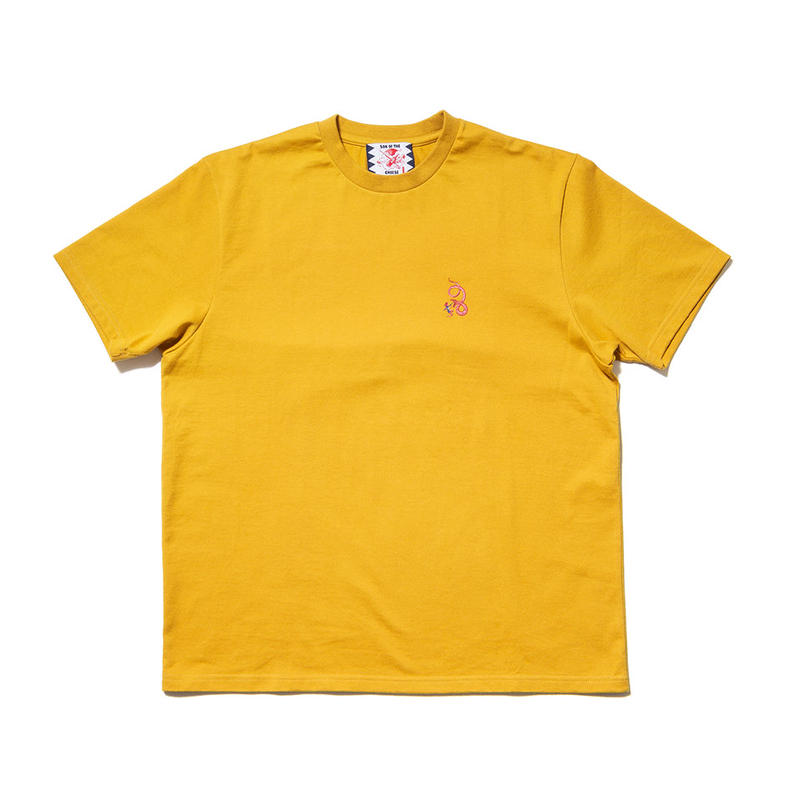 SON OF THE CHEESE / neon queen EMB TEE(YELLOW)